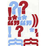 Heidi Swapp - Stickers - Exclamations 2, CLEARANCE