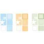 Heidi Swapp - Writers Block - Squares - Medium Calypso, CLEARANCE