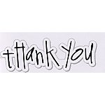 Heidi Swapp - Clear Stamps - Thank You