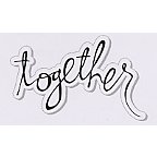 Heidi Swapp - Clear Stamps - Together