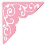 Heidi Swapp - Photo Corners - Extra Large - XL - Pink Swirl