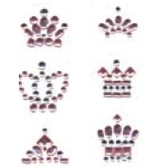 Heidi Swapp - Bling Crowns - Pink