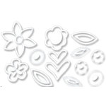 Heidi Swapp - Ghost Flowers - White, CLEARANCE