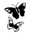 Heidi Swapp - Mask - Mini - Butterfly