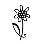 Heidi Swapp - Mask - Flower, CLEARANCE