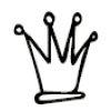 Heidi Swapp - Mask - Mini - Crowns, CLEARANCE