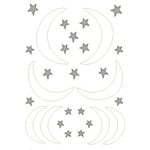 Heidi Swapp - Chipboard - Shapes - Stars & Moon, CLEARANCE