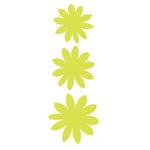 Heidi Swapp - Glitter Florals - Kiwi, CLEARANCE