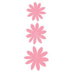 Heidi Swapp - Glitter Florals - Pink, CLEARANCE