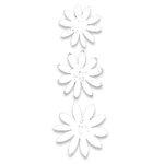 Heidi Swapp - Glitter Florals - White, CLEARANCE