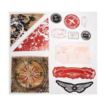 Heidi Swapp - World Traveler Collection - Glossy Extras, CLEARANCE