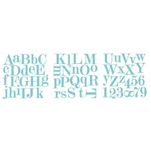 Heidi Swapp - Carefree Collection - Foam Board Alphabet, CLEARANCE