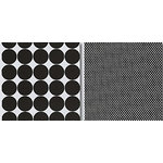 Heidi Swapp - Runway Collection - 12x12 Double Sided Paper - Dots