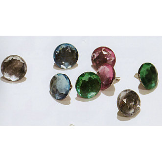 Heidi Swapp - Jeweled Brads - Assorted Colors