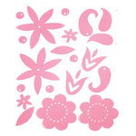 Heidi Swapp - Gel Blossoms - Dark Pink, CLEARANCE