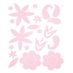 Heidi Swapp - Gel Blossoms - Light Pink, CLEARANCE