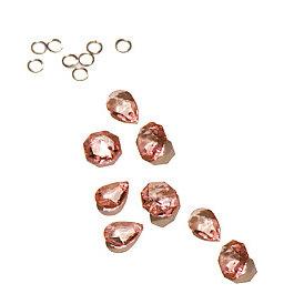 Heidi Swapp - Chandelier Crystals - Pink, CLEARANCE