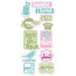 Heidi Swapp - Fresh and Free Collection - Stickers, CLEARANCE