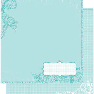 Heidi Swapp - Summer Sun Collection - 12 x 12 Double Sided Paper - Summer Notes, CLEARANCE