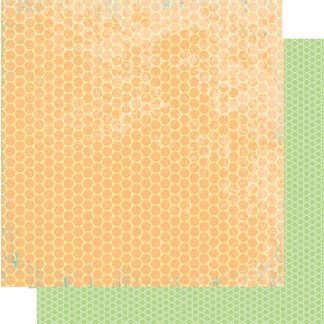 Heidi Swapp - Summer Sun Collection - 12 x 12 Double Sided Paper - Tropical Smoothie, CLEARANCE