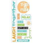 Heidi Swapp - Summer Sun Collection - Stickers, CLEARANCE