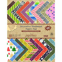 Hilltop Paper LLC - Decorative Handmade Paper Pack - 8.5 x 11 - Assorted Color and Design - 60 Pack