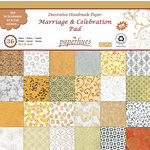 Hilltop Paper LLC - Decorative Handmade Paper Pack - 12 x 12 - Marriage and Celebration - 36 Pack
