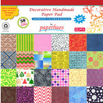 Hilltop Paper LLC - Decorative Handmade Paper Pack - 12 x 12 - Assorted Color and Design - 50 Pack