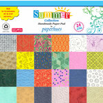 Hilltop Paper LLC - Decorative Handmade Paper Pack - 12 x 12 - Summer Collection - 24 Pack