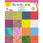 Hilltop Paper LLC - Decorative Handmade Paper Pack - 8.5 x 11 - Spring Summer - 40 Pack