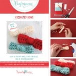 Hazel and Ruby - Crafternoon Collection - Kits - Crocheted Bows - Small
