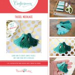 Hazel and Ruby - Crafternoon Collection - Kits - Tassel Necklace - Small
