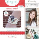Hazel and Ruby - Crafternoon Collection - Kits - Crocheted Bracelet