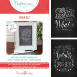 Hazel and Ruby - Crafternoon Collection - Kits - Chalk Art