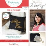 Hazel and Ruby - Crafternoon Collection - Kits - Iron On Pillowcase