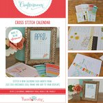 Hazel and Ruby - Crafternoon Collection - Kits - Cross Stitch Calendar