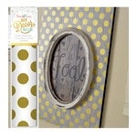 Hazel and Ruby - DIY Decor Tape - Golden Dots - 8 Inch