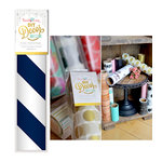 Hazel and Ruby - DIY Decor Tape - Barber Stripe - 8 Inch
