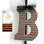 Hazel and Ruby - Halloween - DIY Decor Tape - Multicolor Stripe - 4 Inch