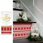 Hazel and Ruby - Christmas - DIY Decor Tape - Scandinavian Sweater - 4 Inch