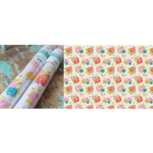 Hazel and Ruby - Wrap it Up - Lightweight Paper Roll - Newsprint Floral