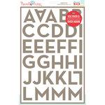 Hazel and Ruby - Stencil Mask - 12 x 18 - Broadside Alphabet