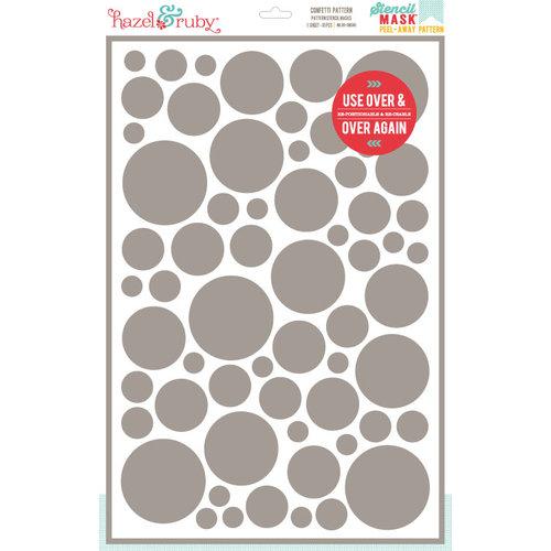 Hazel and Ruby - Stencil Mask - 12 x 18 - Confetti Pattern