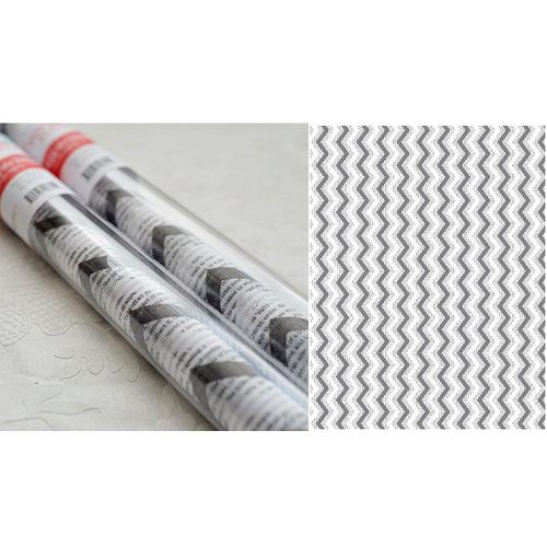 Hazel and Ruby - Pass the Tissue - Tissue Paper Roll - Chevron Newsprint