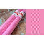 Hazel and Ruby - Pass the Tissue - Tissue Paper Roll - Bubble Gum with White Polka Dot