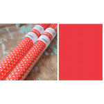 Hazel and Ruby - Pass the Tissue - Tissue Paper Roll - Candy Apple with White Polka Dot
