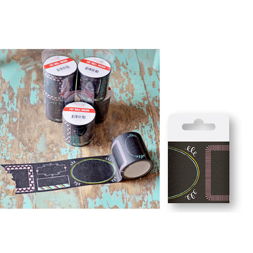 Hazel and Ruby - Fat Roll Washi Tape - Chalk It Up