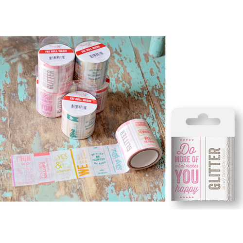Hazel and Ruby - Fat Roll Washi Tape - Quote Me