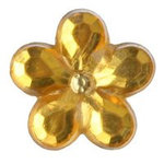 Imaginisce - Let's Pretend Collection - Bling - Itsy Bitsy Bling - Banana Peel Yellow