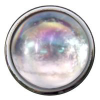 Imaginisce - Bazzill Collection - Brads - Cha Ching Brads - Glass Slipper Clear, CLEARANCE